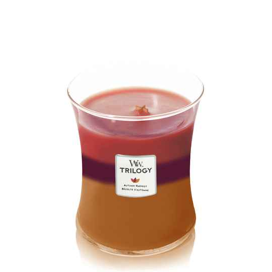 WoodWick Trilogy Medium Candle Autumn Harvest