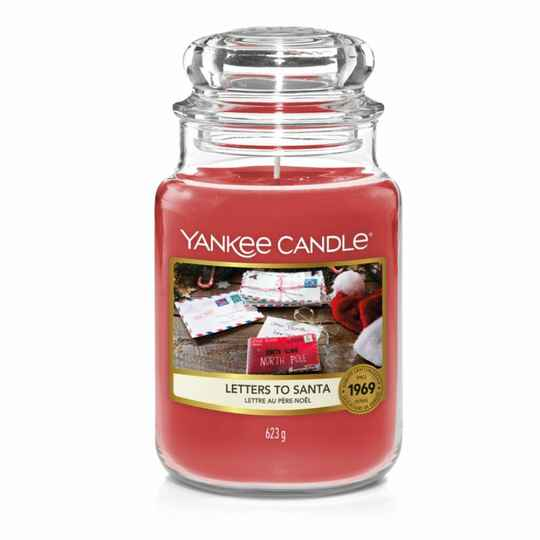 Yankee Candle Large Jar Letters to Santa