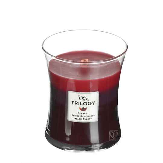 WoodWick Trilogy geurkaars Medium Sun Ripened Berries