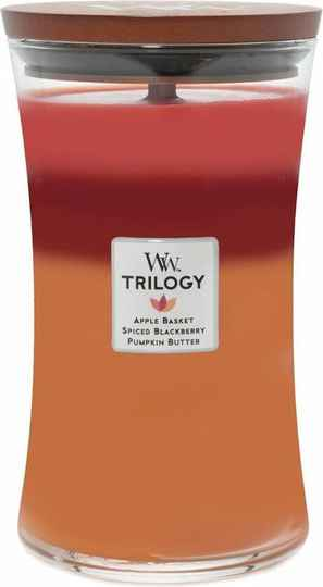 WoodWick Trilogy Large Candle Autumn Harvest