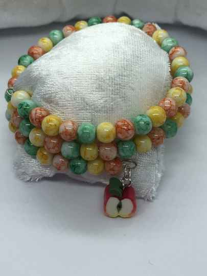 Lovely fruits wikkel armband