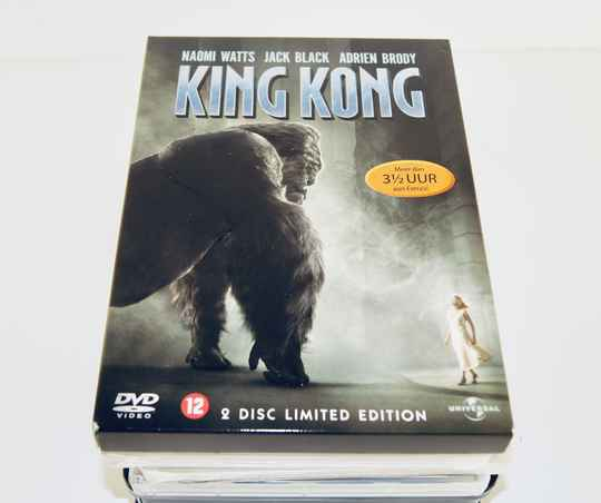2 DVD King Kong - Naomi Watts - Jack Black
